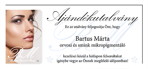 Bartus Márta Exclusive PMU&Medical Beauty Group